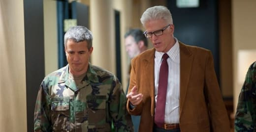 Ted Danson and Dermot Mulroney in Big Miracle