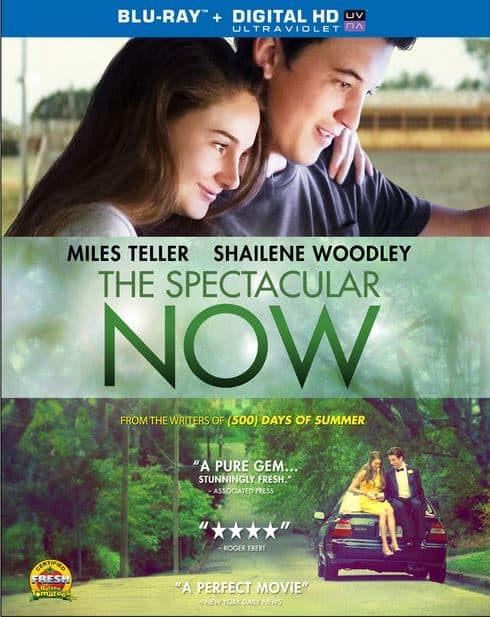 The Spectcular Now DVD