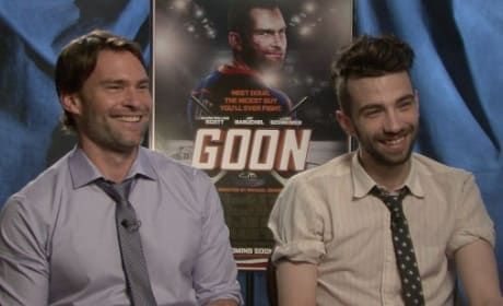 Seann William Scott and Jay Baruchel in Goon