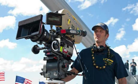 Peter Berg and Brooklyn Decker Chat Battleship