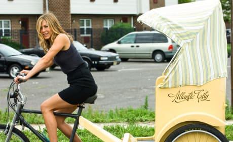 Nicole On Bicycle Carriage