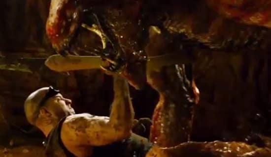 Vin Diesel Stars as Riddick in Riddick