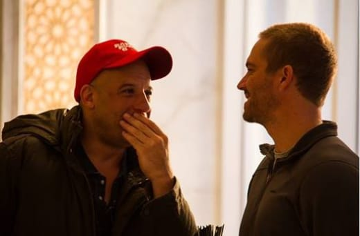 Vin Diesel Paul Walker PHoto