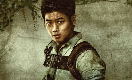 The Maze Runner Ki Hong Lee Character Poster