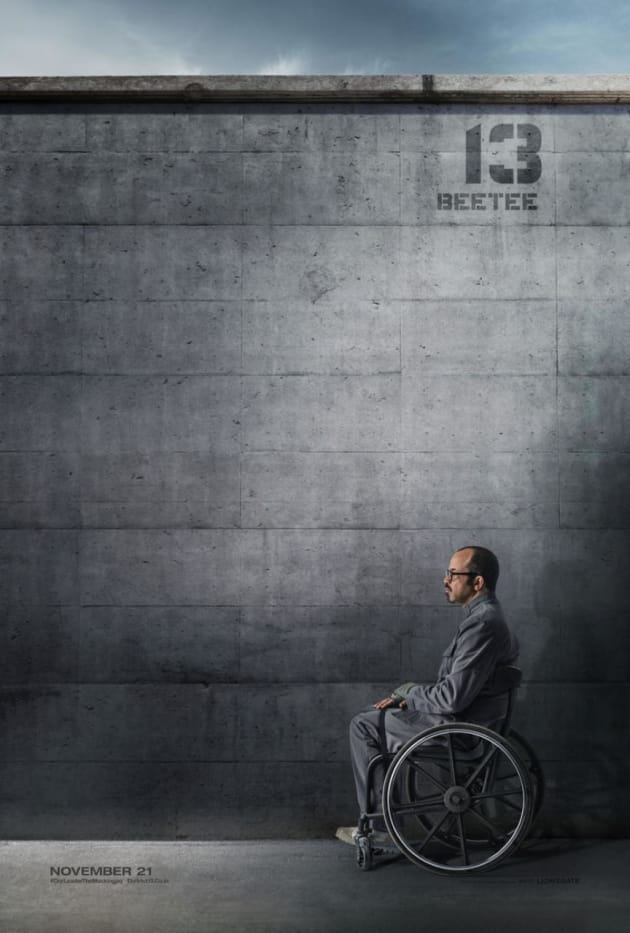 Mockingjay Part 1 Jeffrey Wright Poster