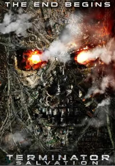New Terminator Salvation Poster
