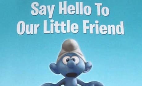The First Official Smurfs Movie Poster