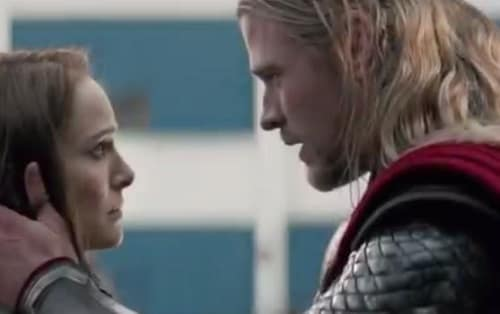 Thor The Dark World Natalie Portman Chris Hemsworth