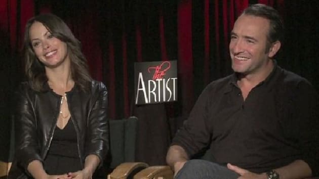 The artist exclusive jean dujardin and berenice bejo for Dujardin interview