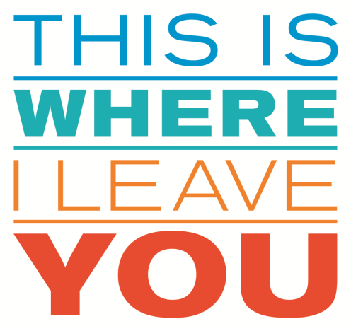 This Is Where I Leave You Logo