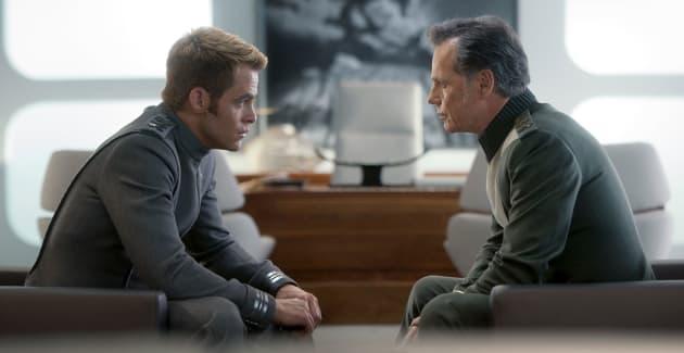 Star Trek Into Darkness Chris Pine Bruce Greenwood