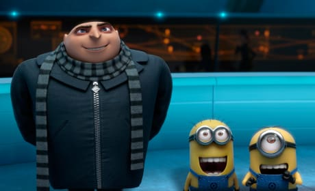 Despicable Me 2 Gru and Minions