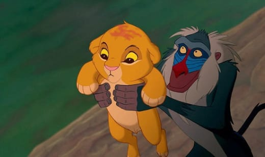 Simba in Lion King 3D