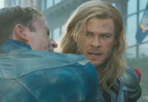 Chris Hemsworth Stars in The Avengers