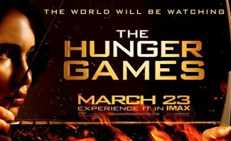 Hunger Games IMAX Poster: World Will Be Watching