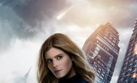 Fantastic Four Invisible Woman Character Poster
