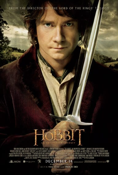 The Hobbit Prize Poster