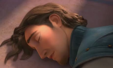 Watch Rapunzel Stuff a Dude in Her Closet in a New Tangled Clip!