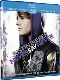 Justin Bieber: Never Say Never DVD Cover