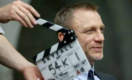 Skyfall Set Photo: Daniel Craig