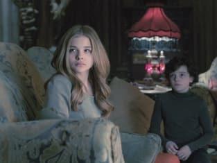 Chloe Moretz and Gulliver McGrath in Dark Shadows