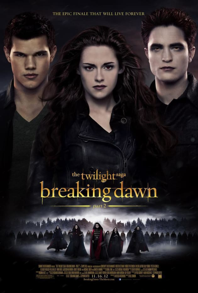 Breaking Dawn Part 2 International Poster