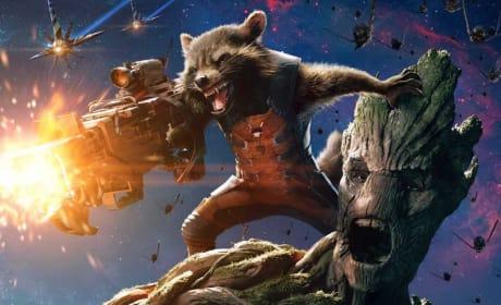 Rocket Raccoon Groot Guardians of the Galaxy