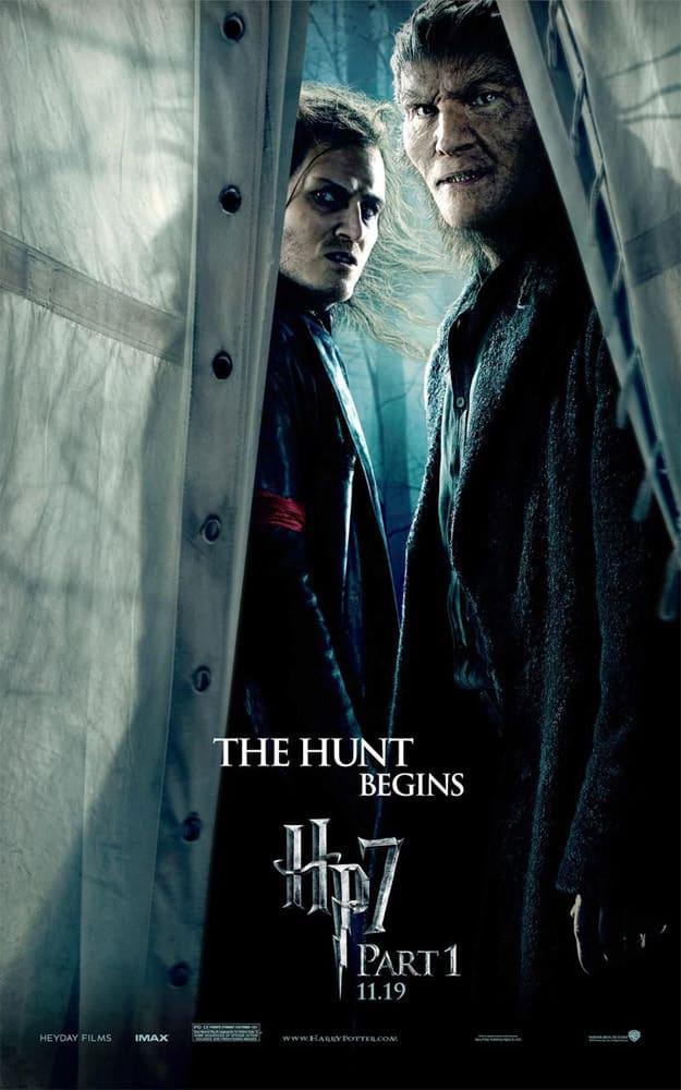 HP7 Hunt Begins Poster
