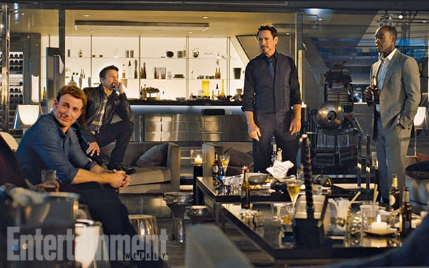Avengers Age of Ultron Cast