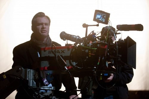 Christopher Nolan Directs The Dark Knight Rises