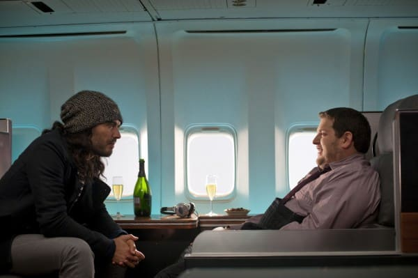 Aldous and Aaron on a Plane