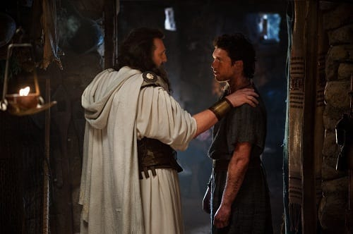 Liam Neeson and Sam Worthington in Wrath of the Titans