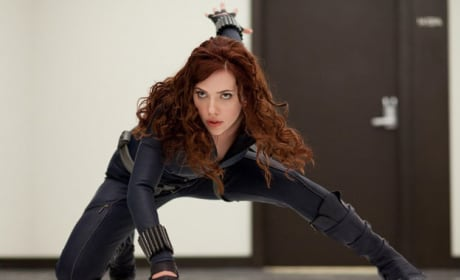Scarlett Johansson as Black Widow!