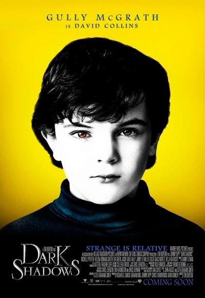 Dark Shadows Gully McGrath Character Poster