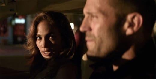 Jennifer Lopez and Jason Statham in Parker