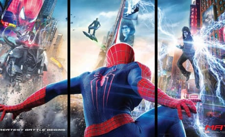 The Amazing Spider-Man 2 Triptych Poster: Is That Green Goblin?