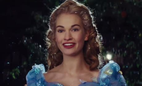 Lily James Cinderella Still Photo