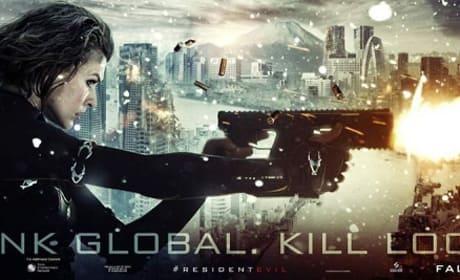 Resident Evil Retribution Banner Ad