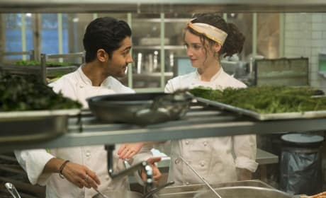 The Hundred Foot Journey Charlotte Le Bon Manish Dayal