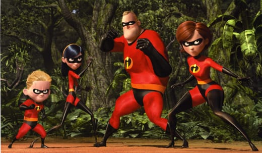 The Incredibles Family Photo