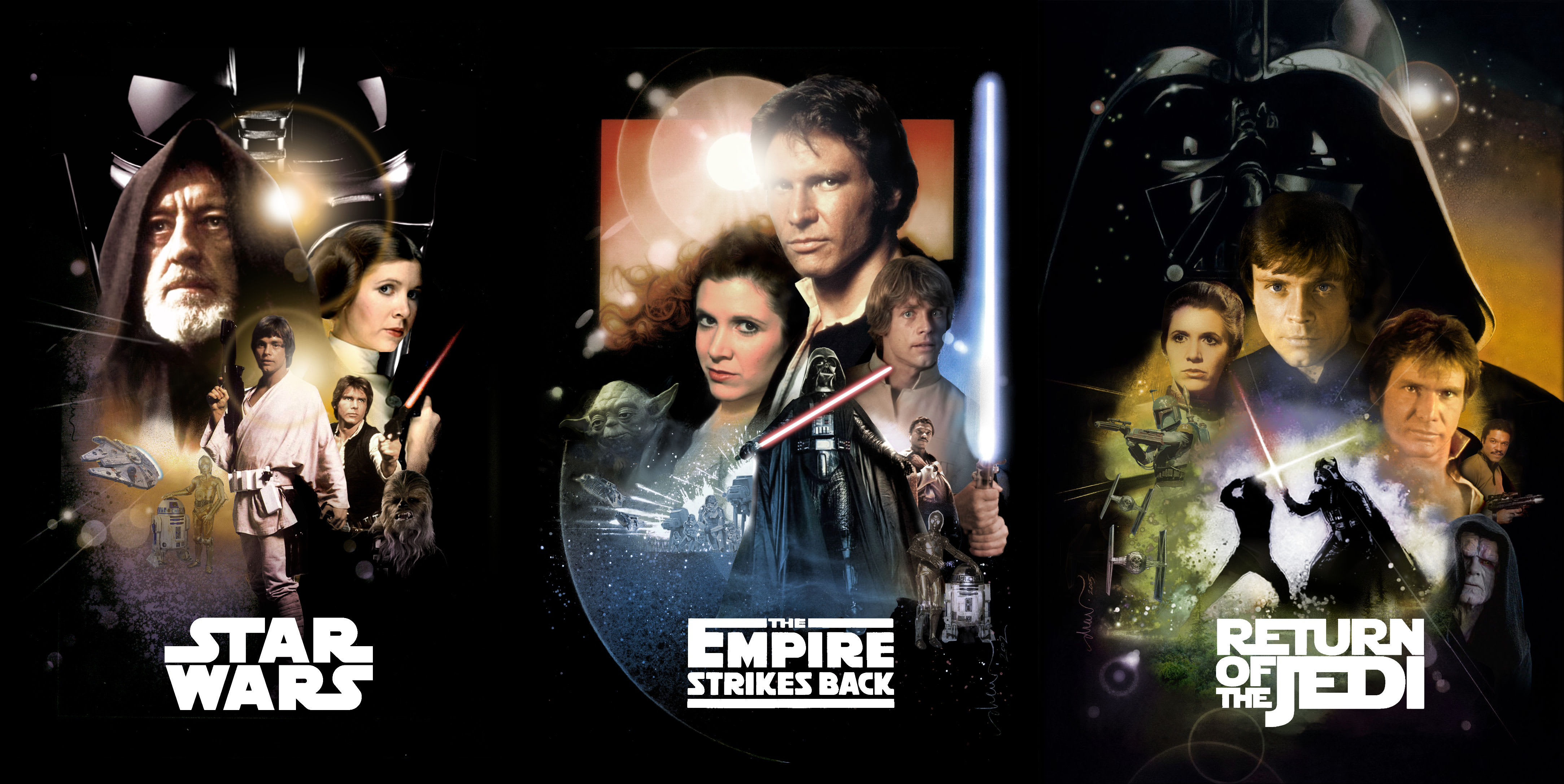 Original Unaltered Star Wars Trilogy To Be Released On Blu Ray Movie Fanatic