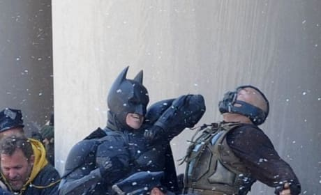 Dark Knight Rises fight scene