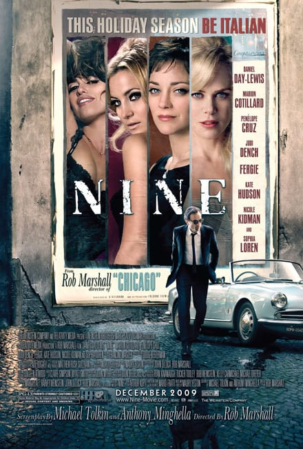 Nine Billboard Poster