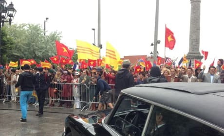 X-Men Days of Future Past Set Photo: Vietnam Protest