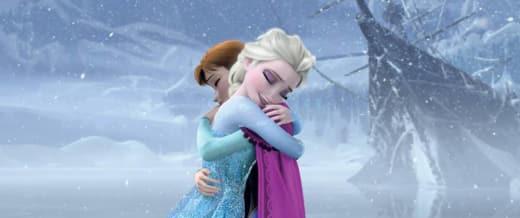 Frozen Elsa Anna