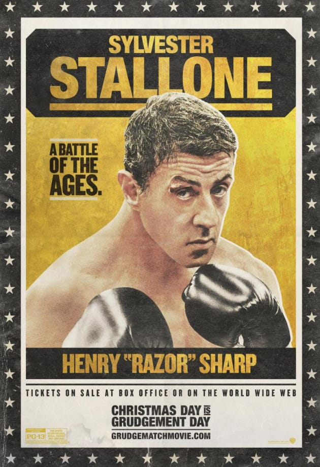 Grudge Match Sylvester Stallone Poster