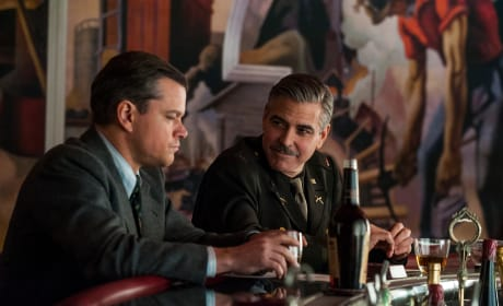 Matt Damon George Clooney The Monuments Men
