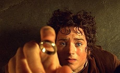 Frodo Grabs for the Ring
