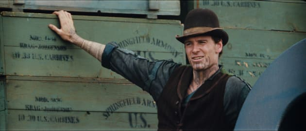 Michael Fassbender as Burke