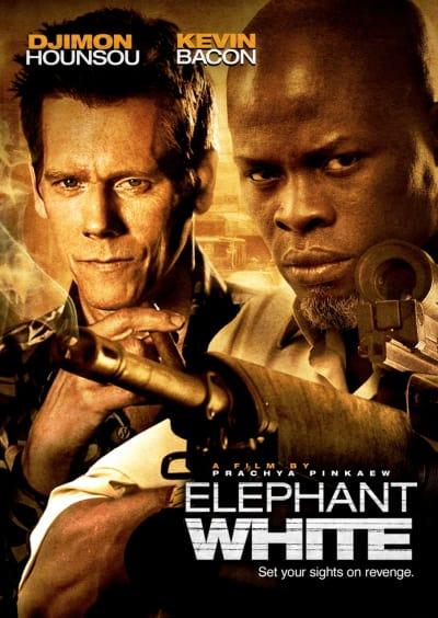 Elephant White Poster #2